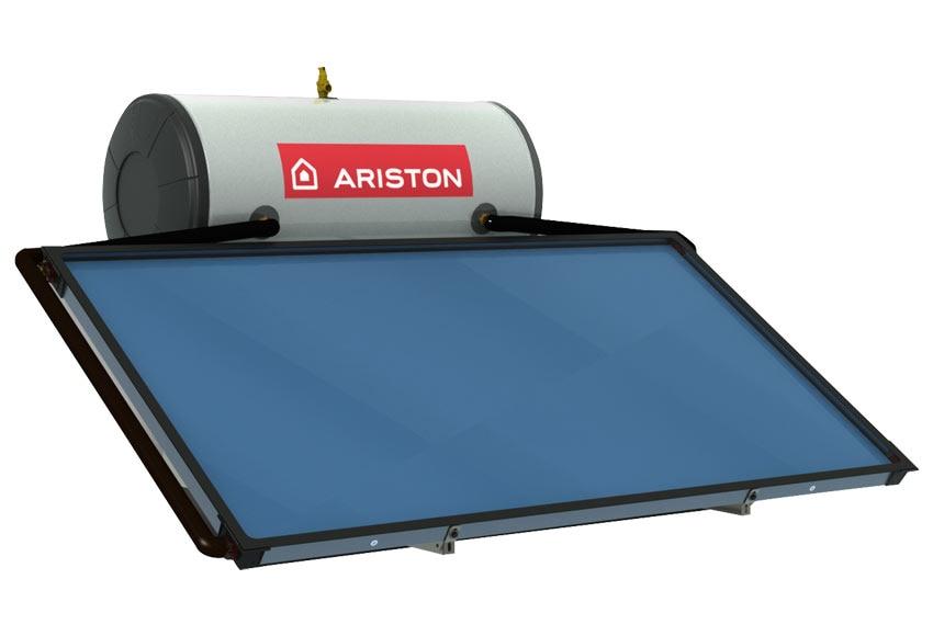 Equipo solar termosif n ariston hf 200 1tt ref 16332281 for Kit placas solares leroy merlin