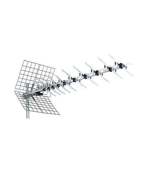 Antena tv exterior para tdt systec uhf 43 ref 14622440 - Amplificador senal tdt ...