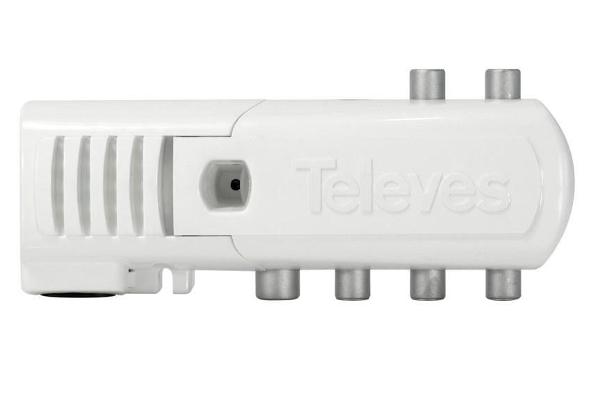 Amplificador con cuatro salidas telev s ref 17554173 - Amplificador senal tv ...