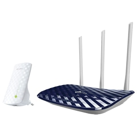 Kit router y repetidor Tp-link