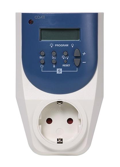 Programador digital coati marino ref 13083133 leroy merlin for Temporizador leroy merlin
