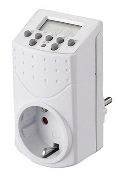 Temporizador para calefacci n acumuladores el ctricos for Temporizador leroy merlin