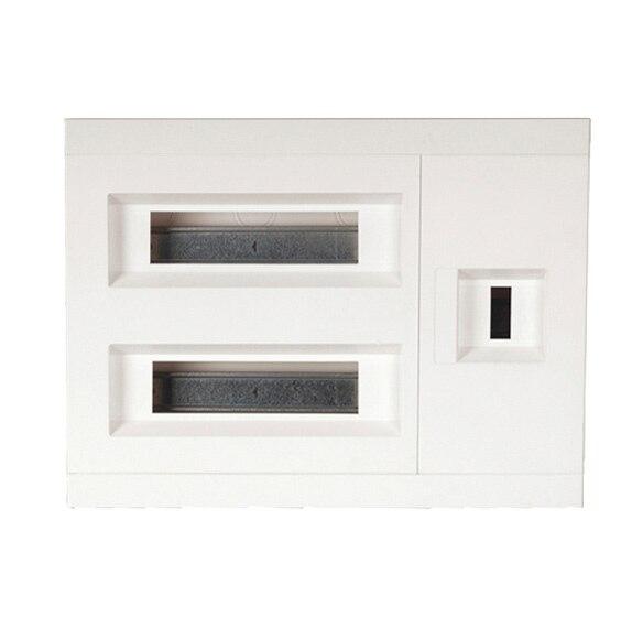 cuadro empotrado hager vx18c ref 15395814 leroy merlin. Black Bedroom Furniture Sets. Home Design Ideas