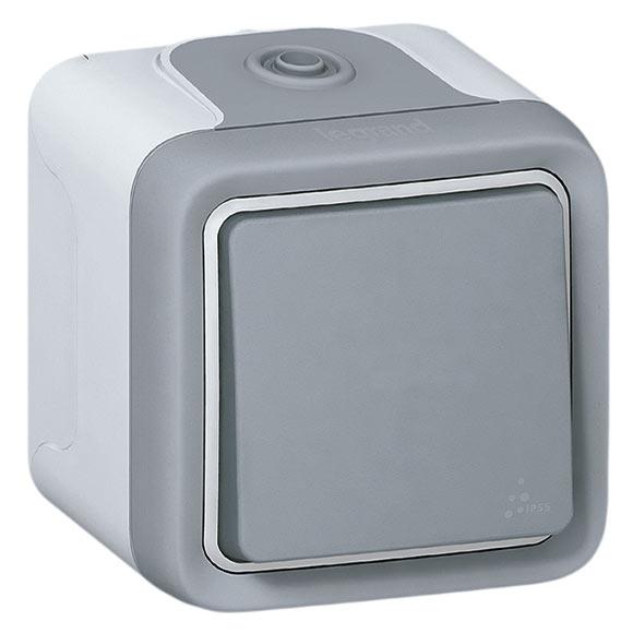 Interruptor conmutador legrand plexo ref 14790622 leroy - Leroy merlin interruptores ...