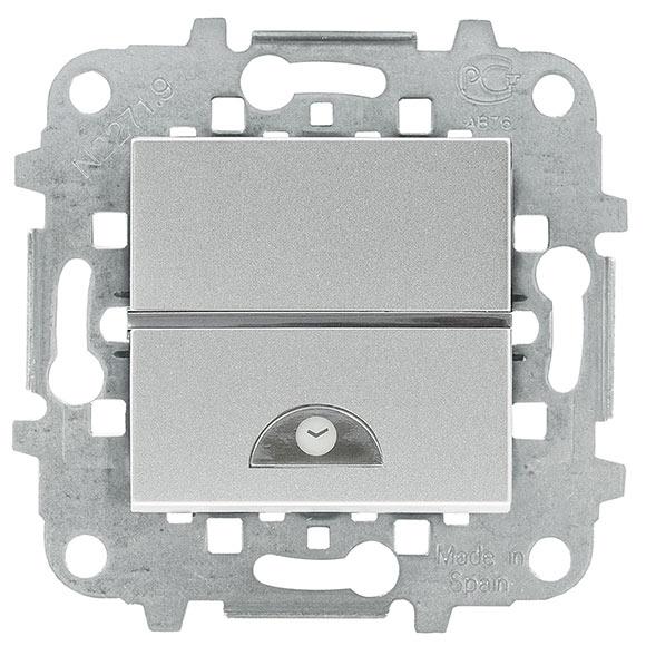 Interruptor con temporizador niessen zenit ref 16117871 for Temporizador leroy merlin