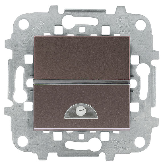 Interruptor con temporizador niessen zenit ref 16117892 for Temporizador leroy merlin
