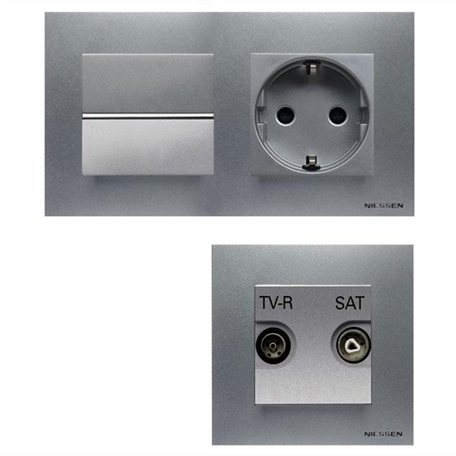 Enchufe e interruptor en uno perfect enchufes con - Interruptores y enchufes ...
