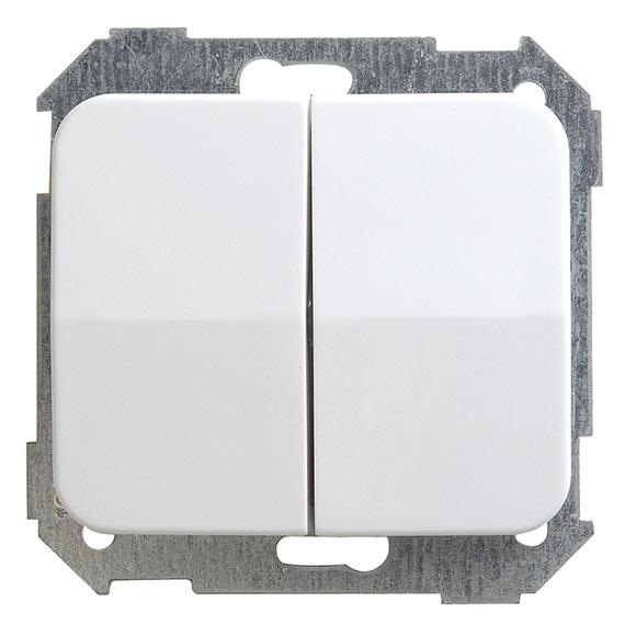 Interruptor conmutador doble simon 75 ref 14808101 - Conmutador de luz ...