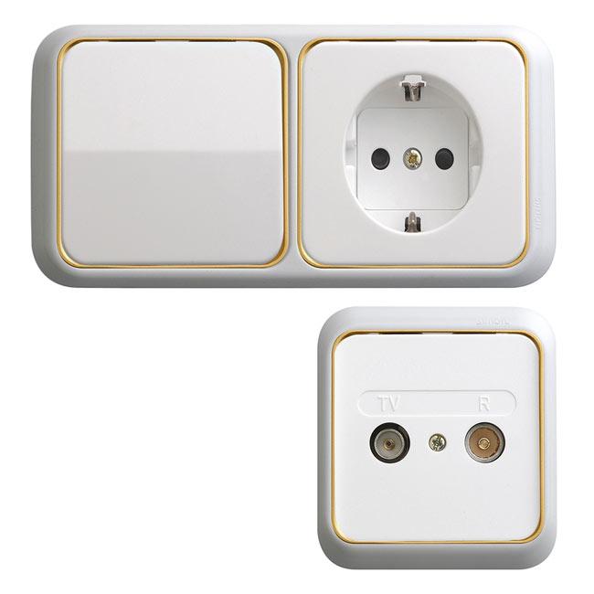 Modelos de llaves de luz simon mecanismos elctricos - Interruptores y enchufes ...