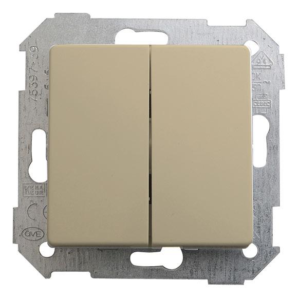 Interruptor conmutador doble simon 82 ref 12843915 - Interruptor doble conmutador ...
