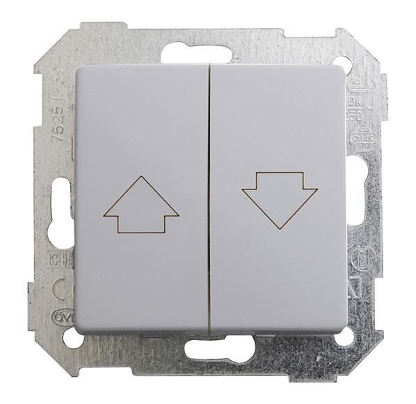 Interruptor persianas simon 82 ref 14804762 leroy merlin - Leroy merlin interruptores ...