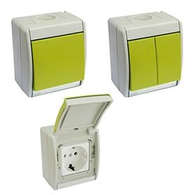 Interruptores y enchufes de exterior leroy merlin - Enchufes de exterior ...