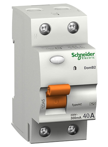 Diferencial bipolar schneider electric 40a ref 13792926 for Diferencial rearmable schneider