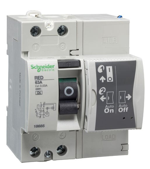 Diferencial rearmable schneider electric 40a ref 15395653 for Diferencial rearme automatico