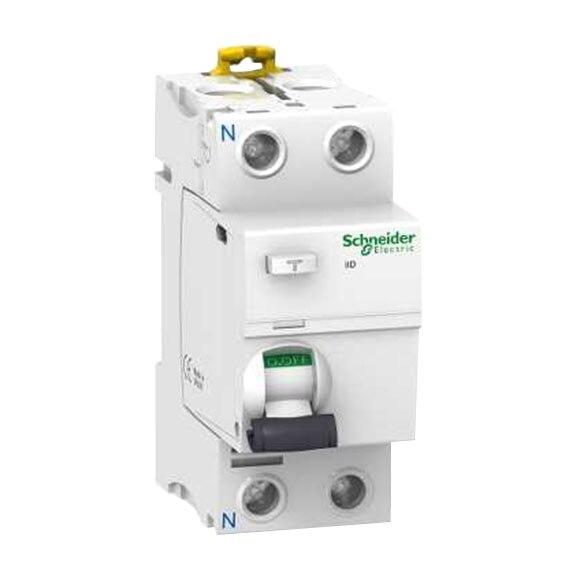 Diferencial bipolar schneider electric 40a alta inmunidad for Diferencial rearmable schneider