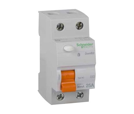 Diferencial bipolar schneider electric 25a ref 19442542 for Diferencial rearmable schneider