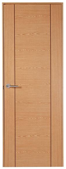 Puerta de interior baleares roble ref 16150855 leroy merlin for Puertas de roble interior