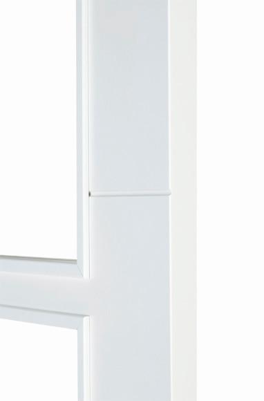 Puerta de interior con cristal holanda lacada blanca for Puerta lacada blanca con cristal