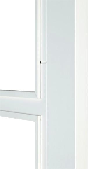 Puerta de interior sin cristal hungria lacada blanca doble for Puerta lacada blanca con cristal
