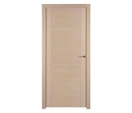 Puerta de interior maciza noruega roble gris ref 16779826 for Puertas de roble interior
