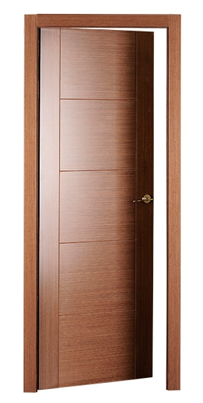 Puerta de interior maciza noruega wengue ref 16779511 for Puertas wengue leroy merlin