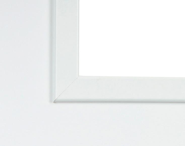 Puerta de interior sin cristal lyon lacada blanca ref for Puerta lacada blanca con cristal