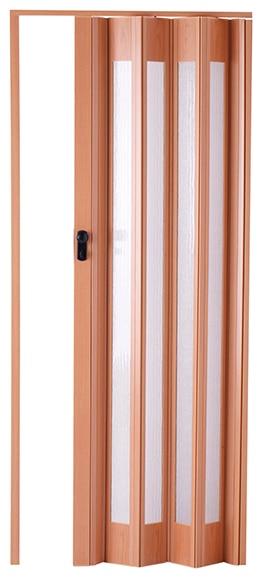 Puerta plegable artens ibiza roble cristal ref 14687421 leroy merlin - Puertas de bano leroy merlin ...