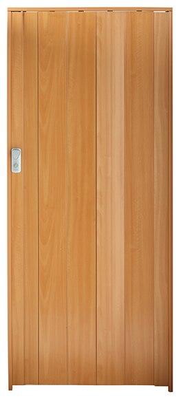 Puerta plegable spacy madera clara ref 13086514 leroy - Puertas leroy merlin madera ...