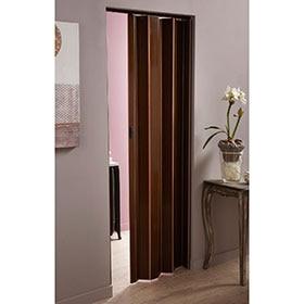 Puertas plegables leroy merlin for Puertas color wengue