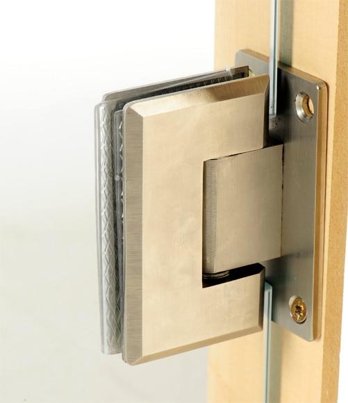 Puerta de cristal abatible puerta cristal abatible alaska - Leroy merlin cierres ...