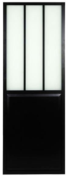 Puerta de cristal atelier corredera ref 19191102 leroy for Puerta corredera bano leroy merlin