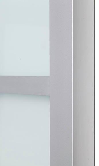 Puerta de cristal corredera artens puerta cristal for Puertas de aluminio leroy merlin