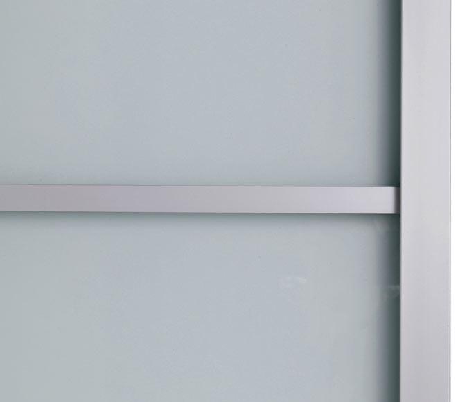 Puerta cristal corredera aspen aluminio leroy merlin - Puerta aluminio corredera ...