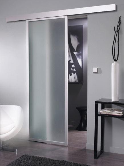 Puerta de cristal corredera artens puerta cristal for Espejo para puerta