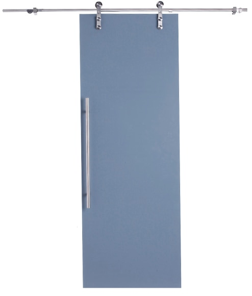 Puerta cristal corredera florida gris artens puerta - Puerta corredera cristal leroy ...
