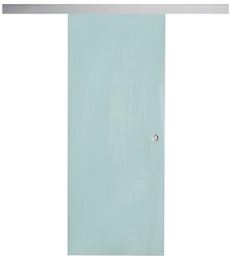 Puerta de cristal corredera puerta cristal corredera giorgia aluminio ref 16149014 leroy merlin - Leroy merlin puertas correderas cristal ...