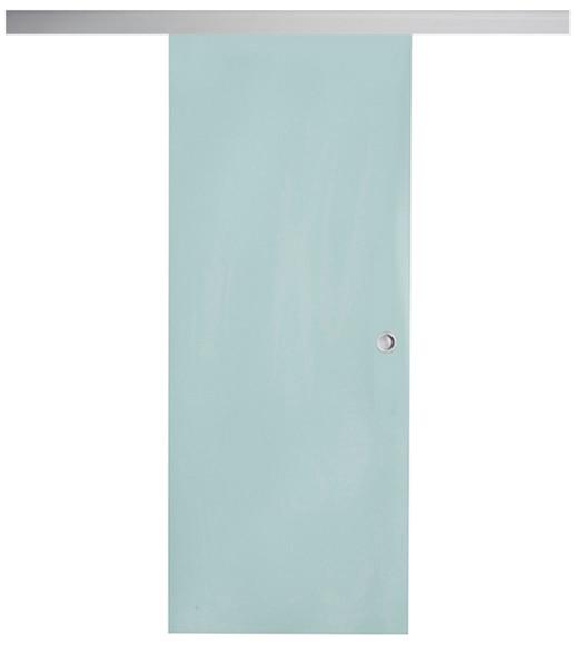 Puerta cristal corredera giorgia aluminio leroy merlin - Puertas correderas bricomart ...