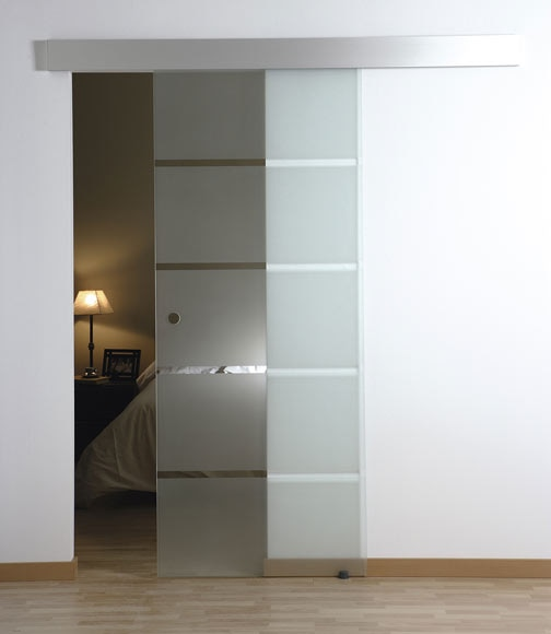 Puerta de cristal corredera artens puerta cristal for Puertas cocina leroy merlin