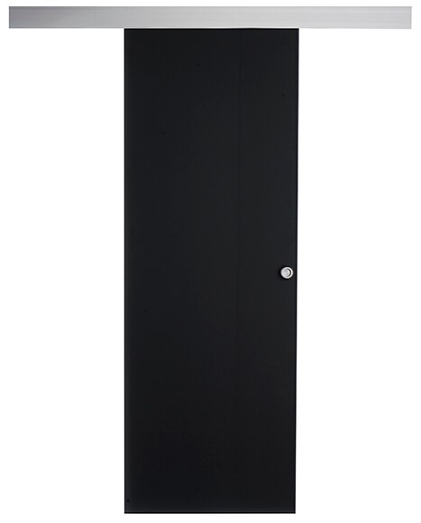 Puerta cristal corredera ohio aluminio leroy merlin - Puerta corredera de aluminio ...