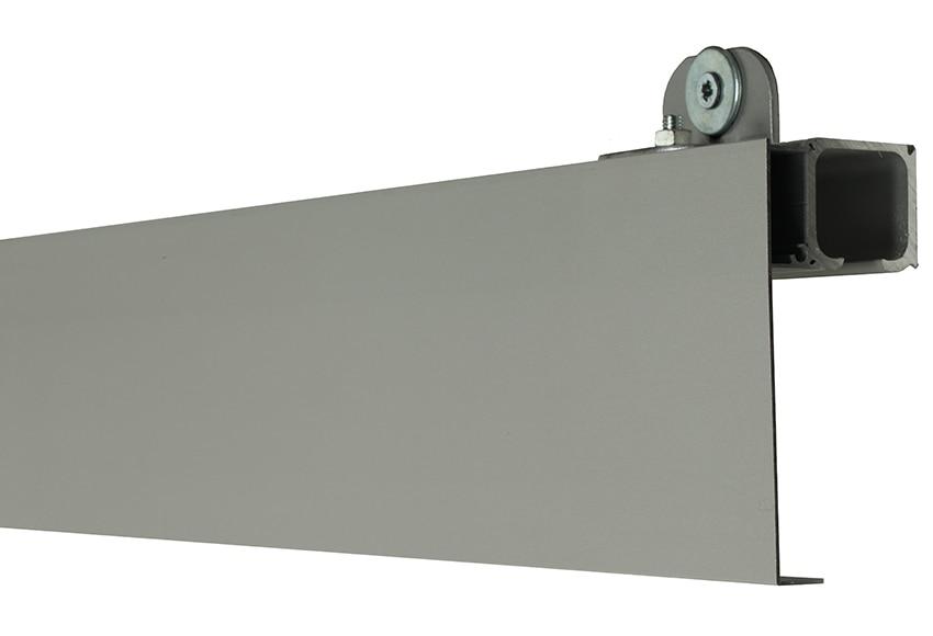 Gu a para puerta corredera artens puerta cristal corredera orlando ref 14597835 leroy merlin - Guia para puerta corredera ...