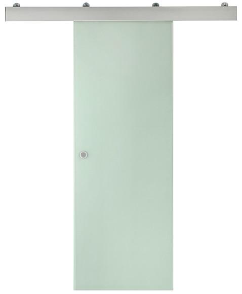 Puerta de cristal corredera artens puerta cristal for Puerta corredera bano leroy merlin