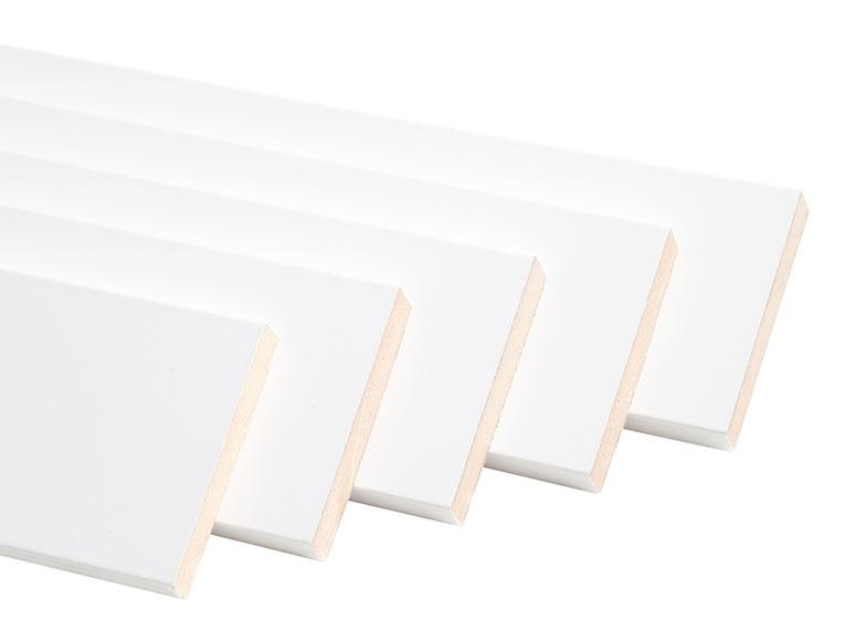 Kit de 5 tapetas 80x16 80x12 blanco ref 15881824 leroy - Leroy merlin marcos de fotos ...