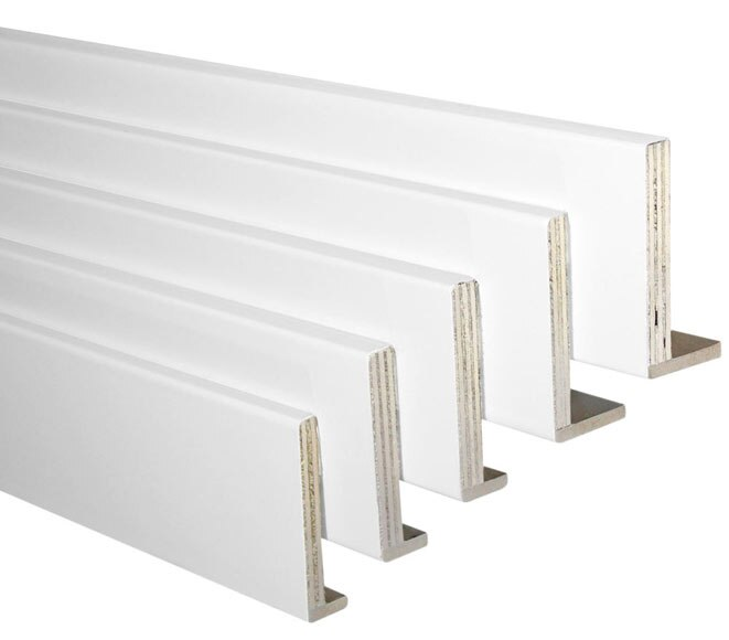 Kit de 5 tapetas ext blanco 110x10 110x12 ref 18069324 leroy merlin - Tapajuntas puertas leroy merlin ...