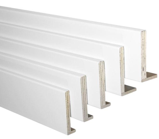 Kit de 5 tapetas ext blanco 80x10 80x12 ref 18069352 - Puertas lacadas en blanco leroy merlin ...