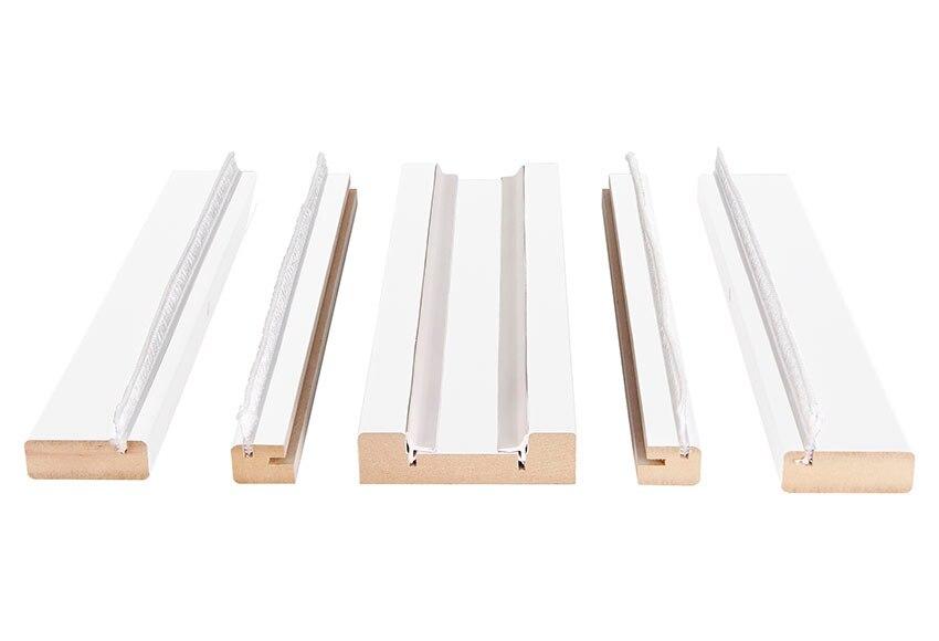 Kit de molduras corred 105 blanco 15d ref 18570076 leroy merlin - Puertas de madera leroy merlin ...