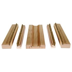 Tapetas para puertas de interior leroy merlin for Molduras madera leroy merlin