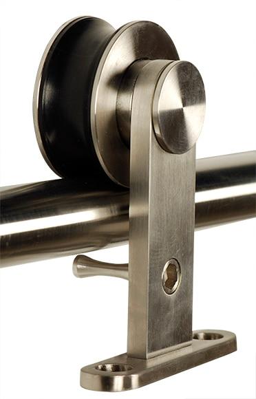 Gu a corredera madera gu a corredera madera ref 360106 - Guias puerta corredera ...