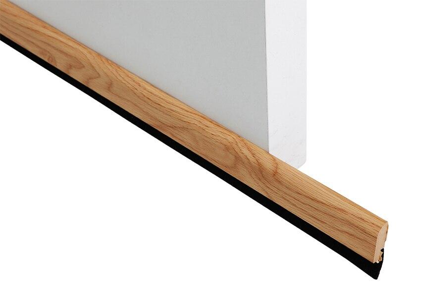 Burlete bajo puerta de madera bresme madera roble ref - Puertas madera leroy merlin ...