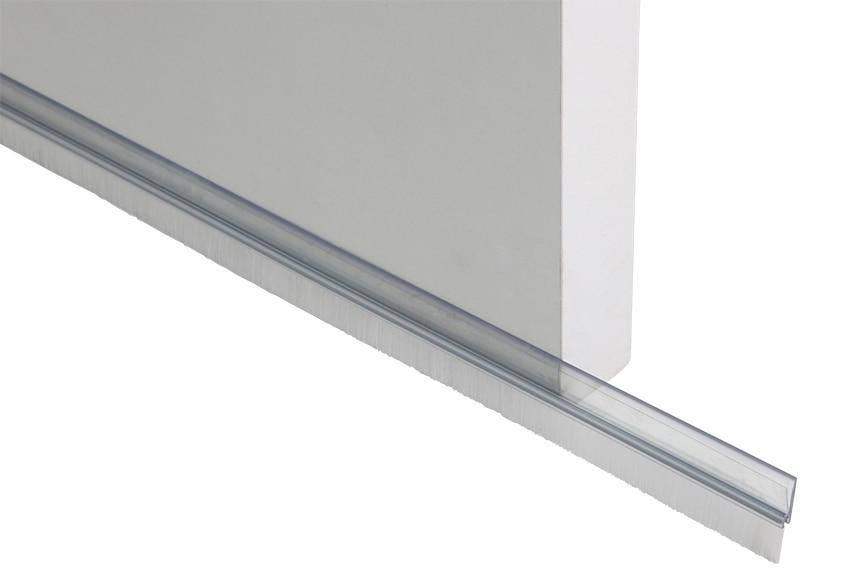 Burlete bajo puerta de cepillo plasto adhesivo cepillo ref 13731123 leroy merlin - Burlete puerta ...