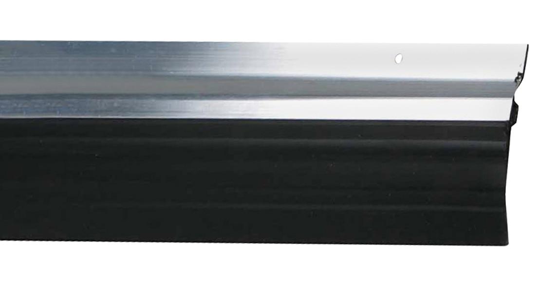 Burlete bajo puerta basculante axton aluminio ref 16155636 leroy merlin - Burletes de goma para puertas exteriores ...